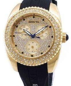 인 빅 타 천사 28485 다이아몬드 악센트 아날로그 석 영 여자의 시계