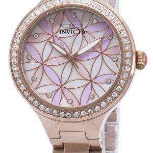 인 빅 타 야생화 28824 다이아몬드 악센트 아날로그 석 영 여자의 시계