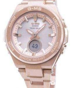 건반 베이비-G G-MS 메시지-S200DG-4A MSGS200DG-4A 아날로그 디지털 여자의 시계