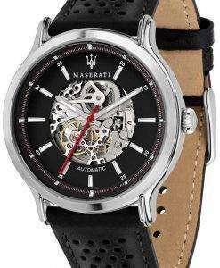 마 세라 티 전설 R8821138001 자동 아날로그 남자의 시계