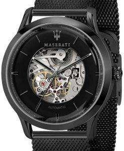 마 세라 티 Ricordo R8823133002 자동 아날로그 남자의 시계