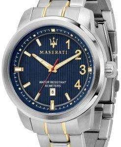 마 세라 티 로얄 R8853137001 석 영 아날로그 남자 시계