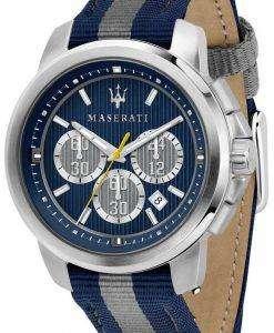 마 세라 티 로얄 R8871637001 크로 노 그래프 쿼 츠 남성용 시계