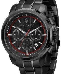 마 세라 티 Successo R8873621014 크로 노 그래프 쿼 츠 남성용 시계