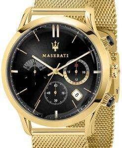 마 세라 티 Ricordo R8873633003 석 영 아날로그 남자 시계