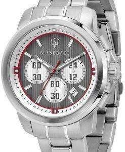 마 세라 티 로얄 R8873637003 크로 노 그래프 쿼 츠 남성용 시계