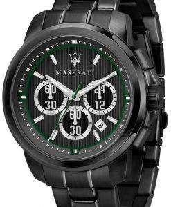 마 세라 티 로얄 R8873637004 크로 노 그래프 쿼 츠 남성용 시계