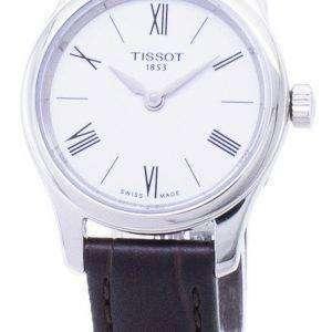 Tissot T-클래식 전통 5.5 T063.009.16.018.00 T0630091601800 석 영 여자 시계