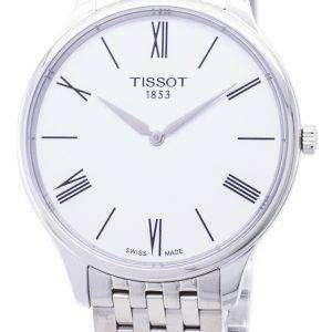 Tissot T-클래식 전통 5.5 T063.409.11.018.00 T0634091101800 석 영 남자 시계