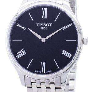 Tissot T-클래식 전통 5.5 T063.409.11.058.00 T0634091105800 석 영 남자 시계