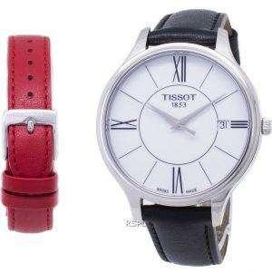 Tissot T-레이디 벨라 오 라 T103.210.16.018.00 T1032101601800 석 영 여자의 시계