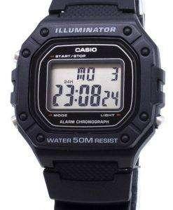카시오 주니어 W-218H-W218H 디지털 남자 시계