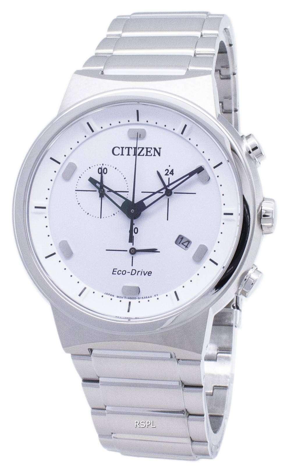 Citizen 시티즌 시계 에코 드라이브 AT2400-81A 크로 노 그래프 아날로그 남성용 손목시계
