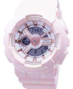 건반 베이비-G 바-110RG-4A BA110RG-4A 아날로그 디지털 여자의 시계