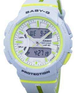 건반 베이비-G 충격 방지 듀얼 타임 아날로그 디지털 BGA-240 L-7A 여자의 시계