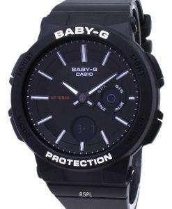 건반 베이비-G BGA-255-1A BGA255-1A 아날로그 디지털 여자의 시계