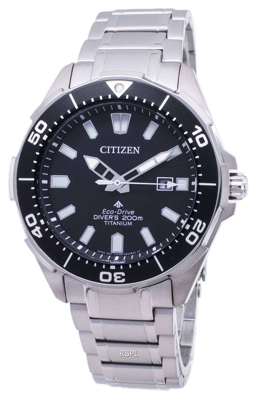 Citizen 시티즌 시계 에코 드라이브 BN0200-81E 프로 마스터 다이 버 200M 남성용 손목시계