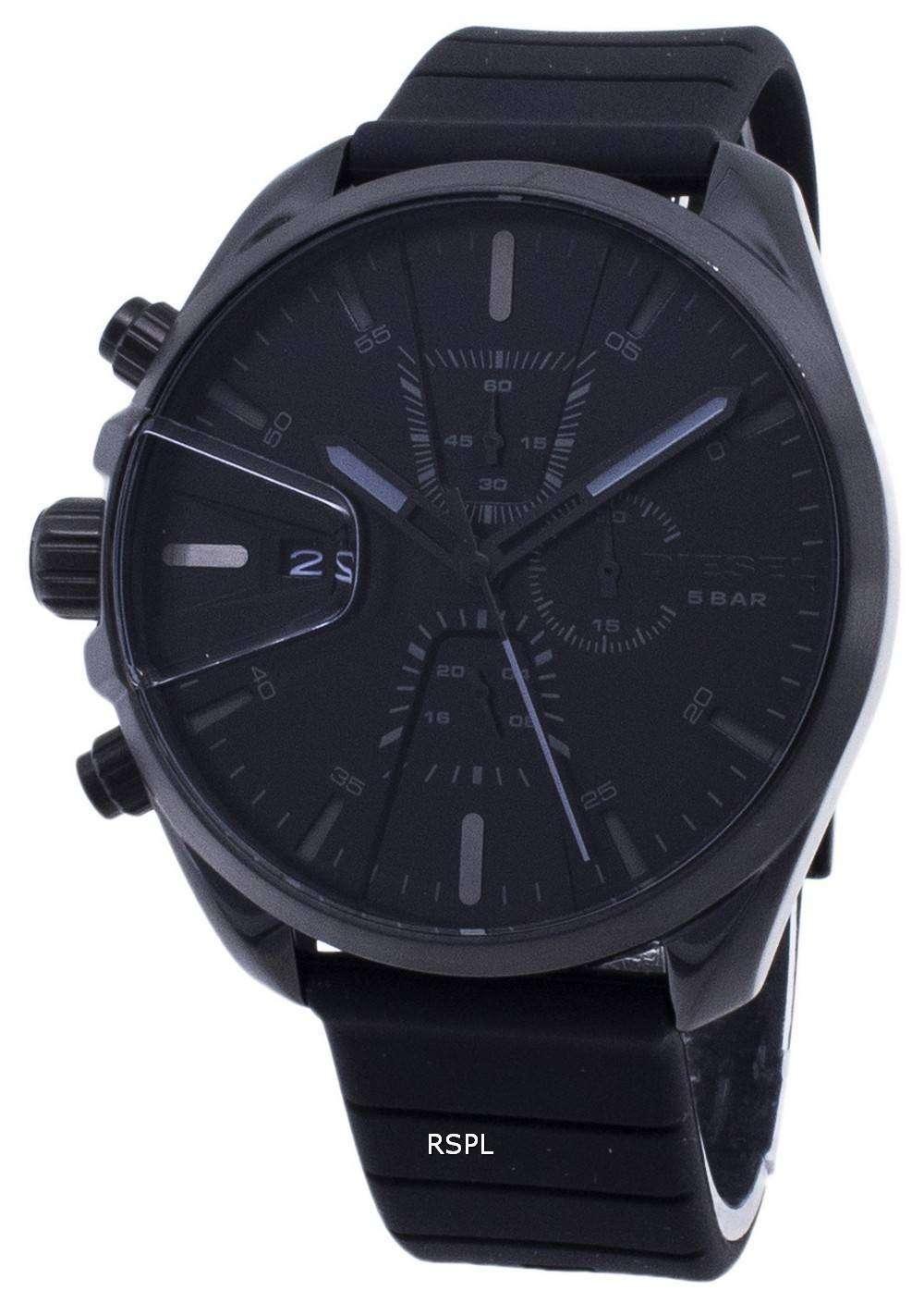 디젤 MS9 DZ4507 쿼 츠 크로 노 그래프 남성용 손목시계