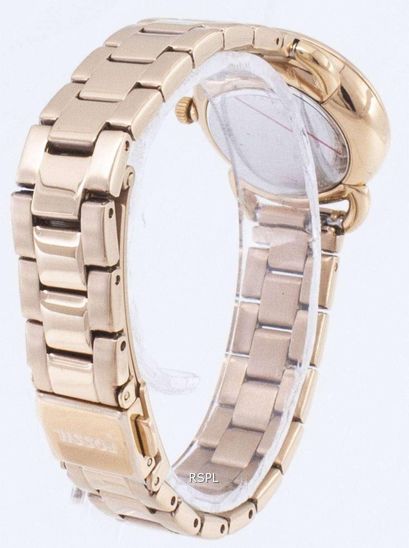 화석 재단사 미니 ES4497 쿼 츠 아날로그 여자 시계