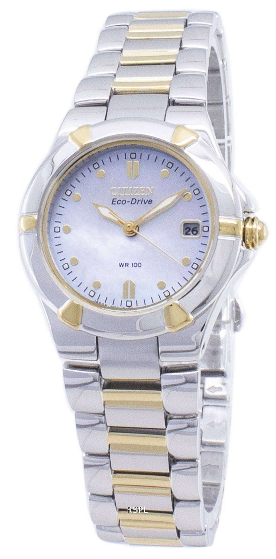 Citizen 시티즌 시계 리 바 에코 드라이브 EW1534-57D 아날로그 여성용 손목시계