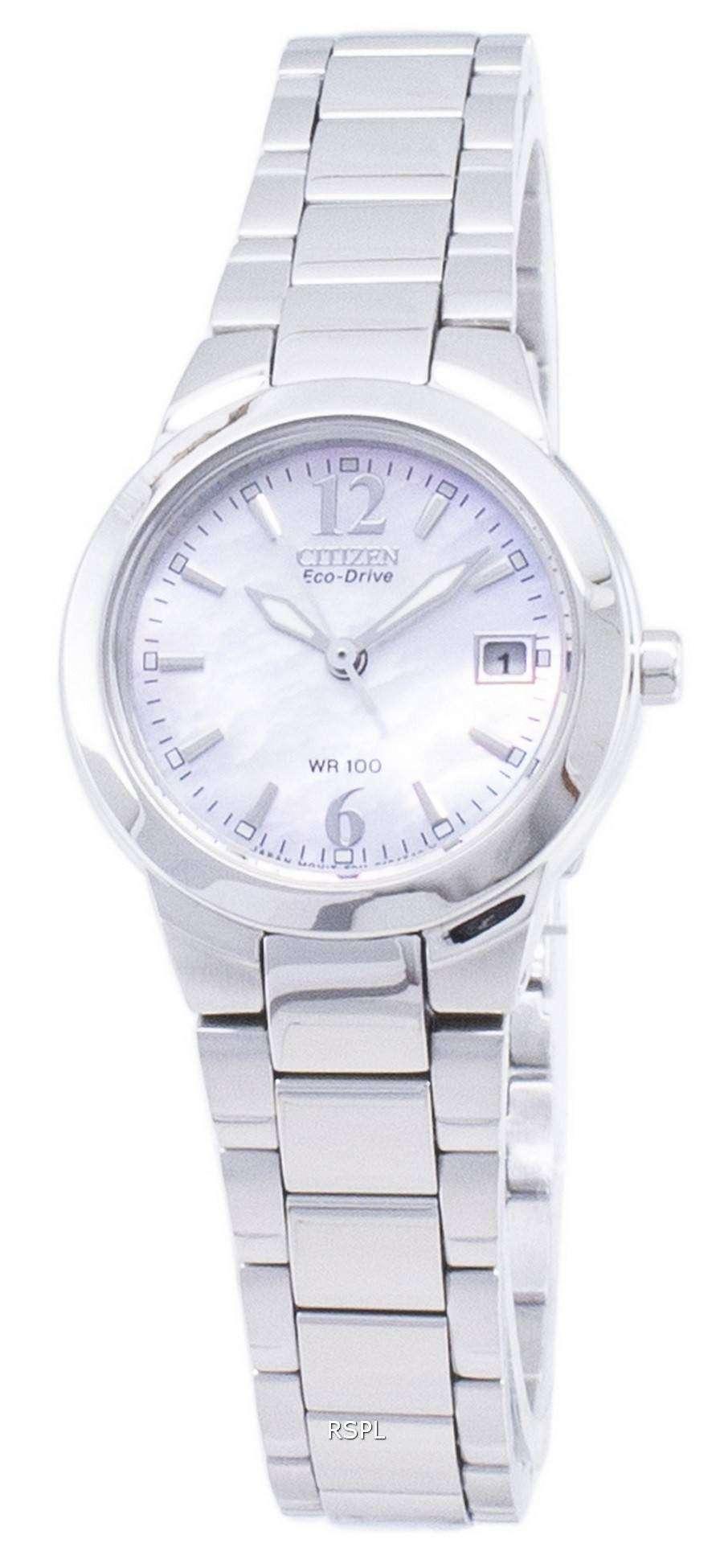 Citizen 시티즌 시계 실루엣 에코 드라이브 EW1670-59D 아날로그 여성용 손목시계