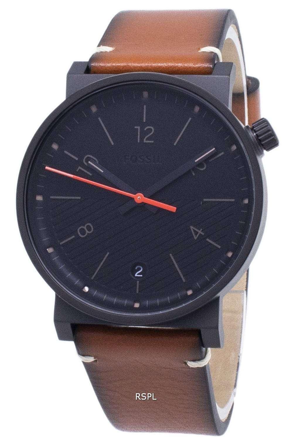 화석 바 스토 FS5507 쿼 츠 아날로그 남성용 손목시계