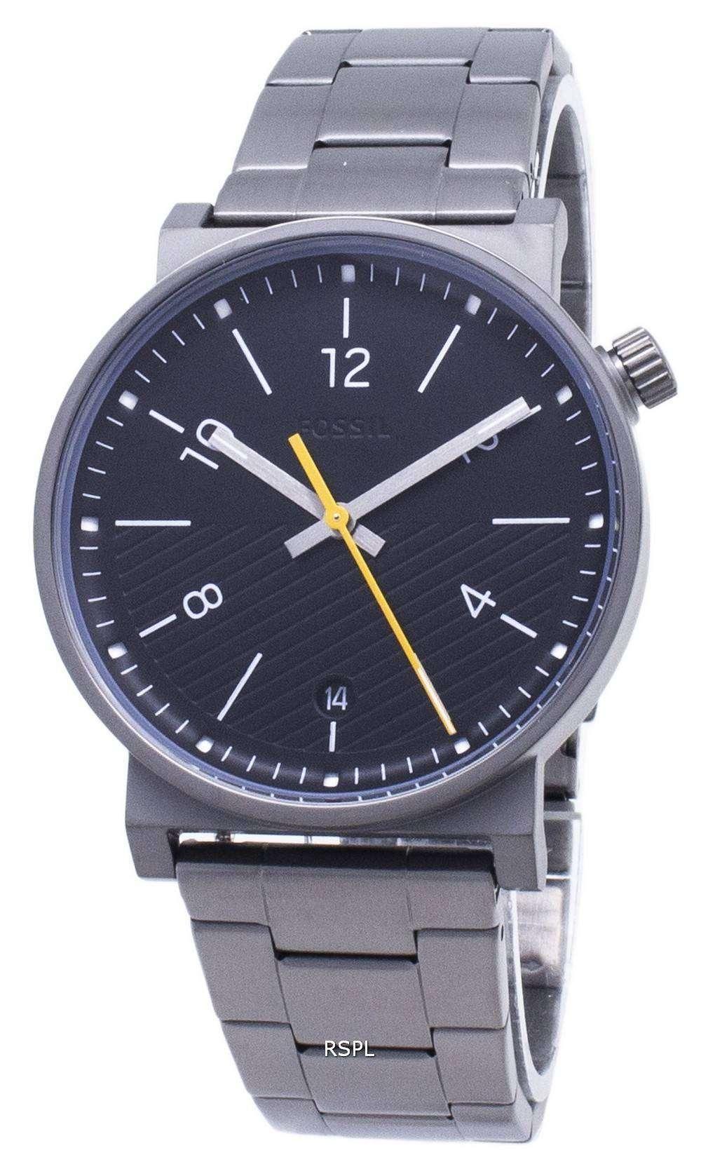 화석 바 스토 FS5508 쿼 츠 아날로그 남성용 손목시계