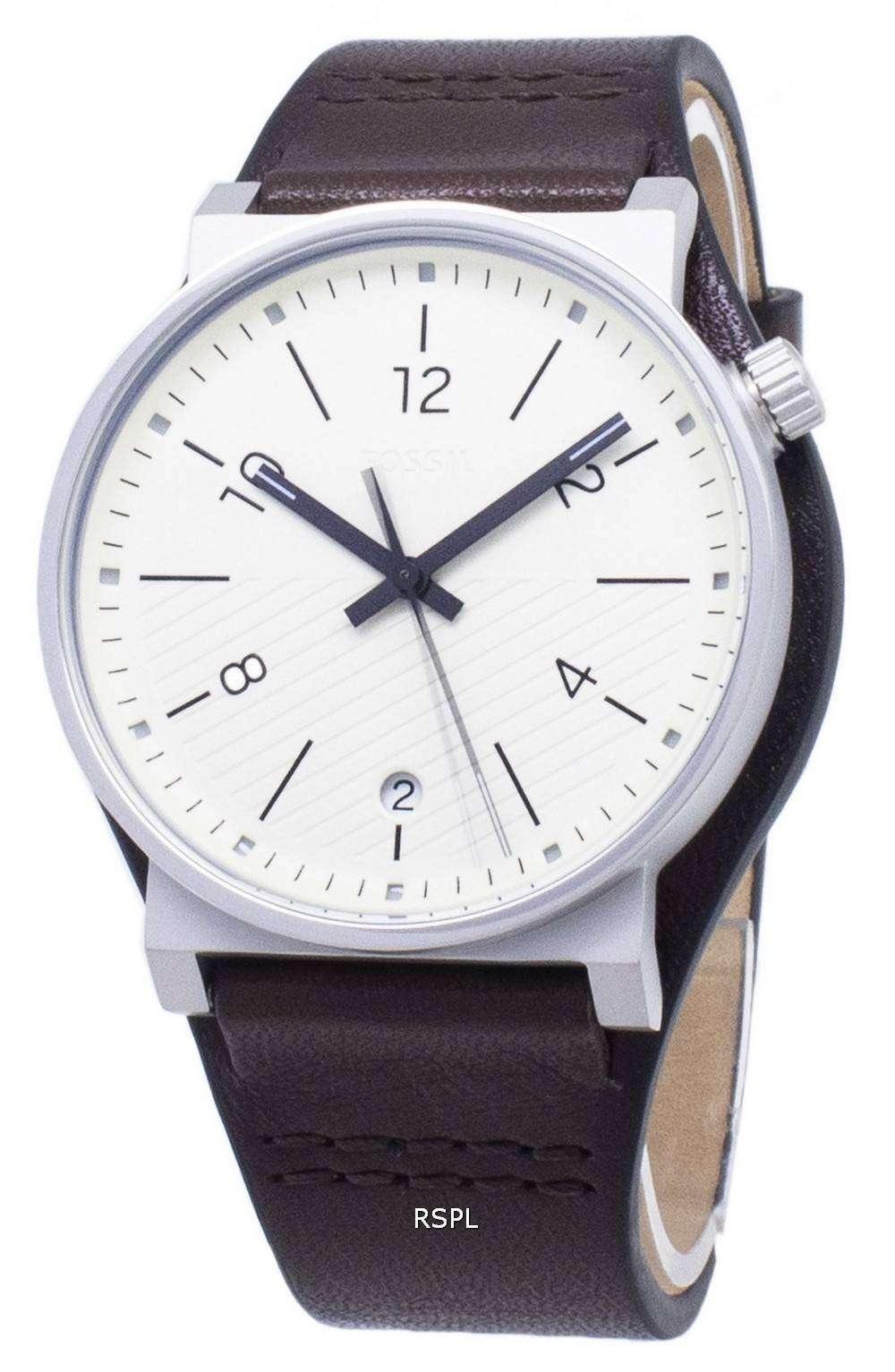 화석 바 스토 FS5510 쿼 츠 아날로그 남성용 손목시계