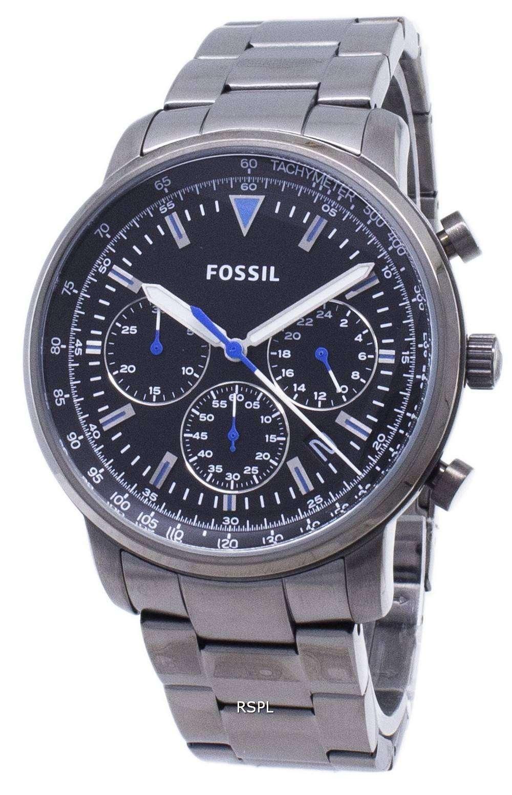 화석 굿 윈 FS5518 크로 노 그래프 쿼 츠 남성용 손목시계