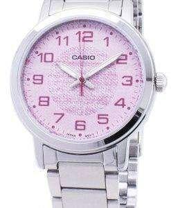 카시오 석 영 LTP-E159D-4B LTPE159D-4B 아날로그 여자의 시계