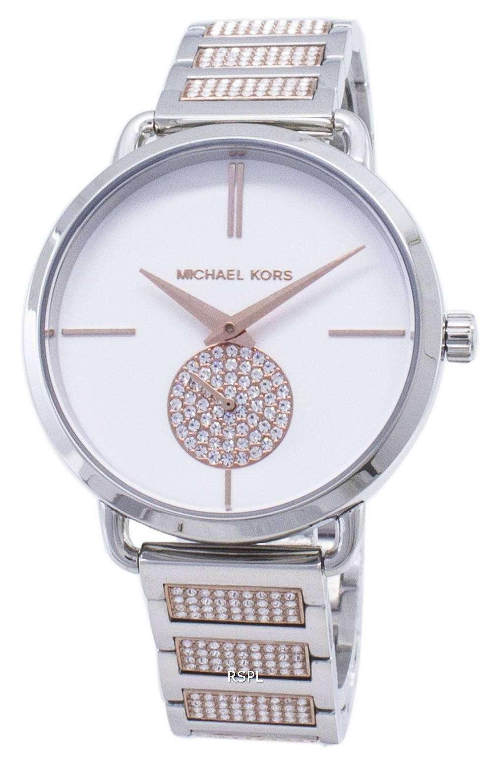 마이클이 스 Portia MK4352 다이아몬드 악센트 석 영 여자 시계