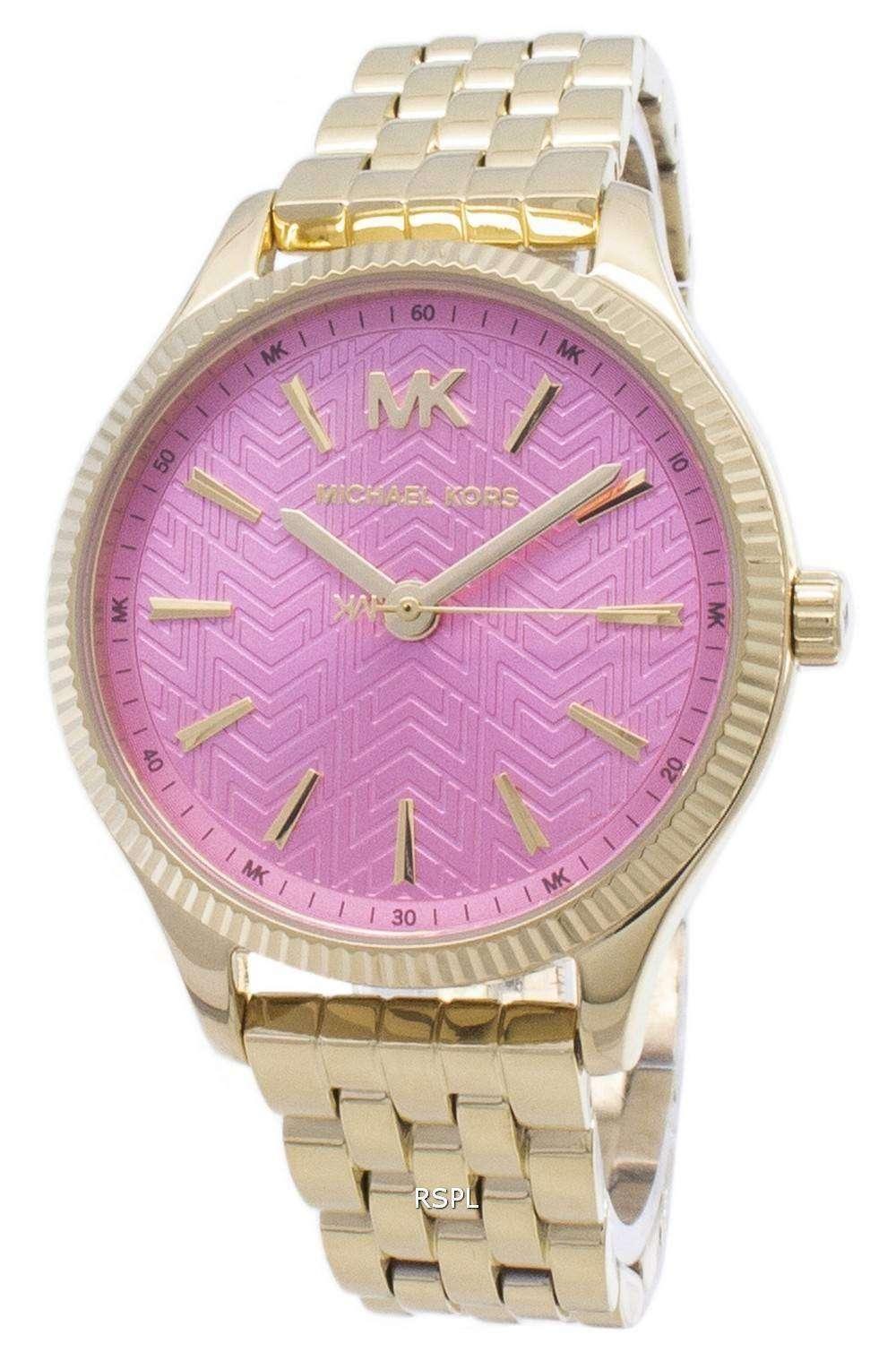마이클 노스 렉 싱 턴 MK6640 쿼 츠 아날로그 여성용 손목시계