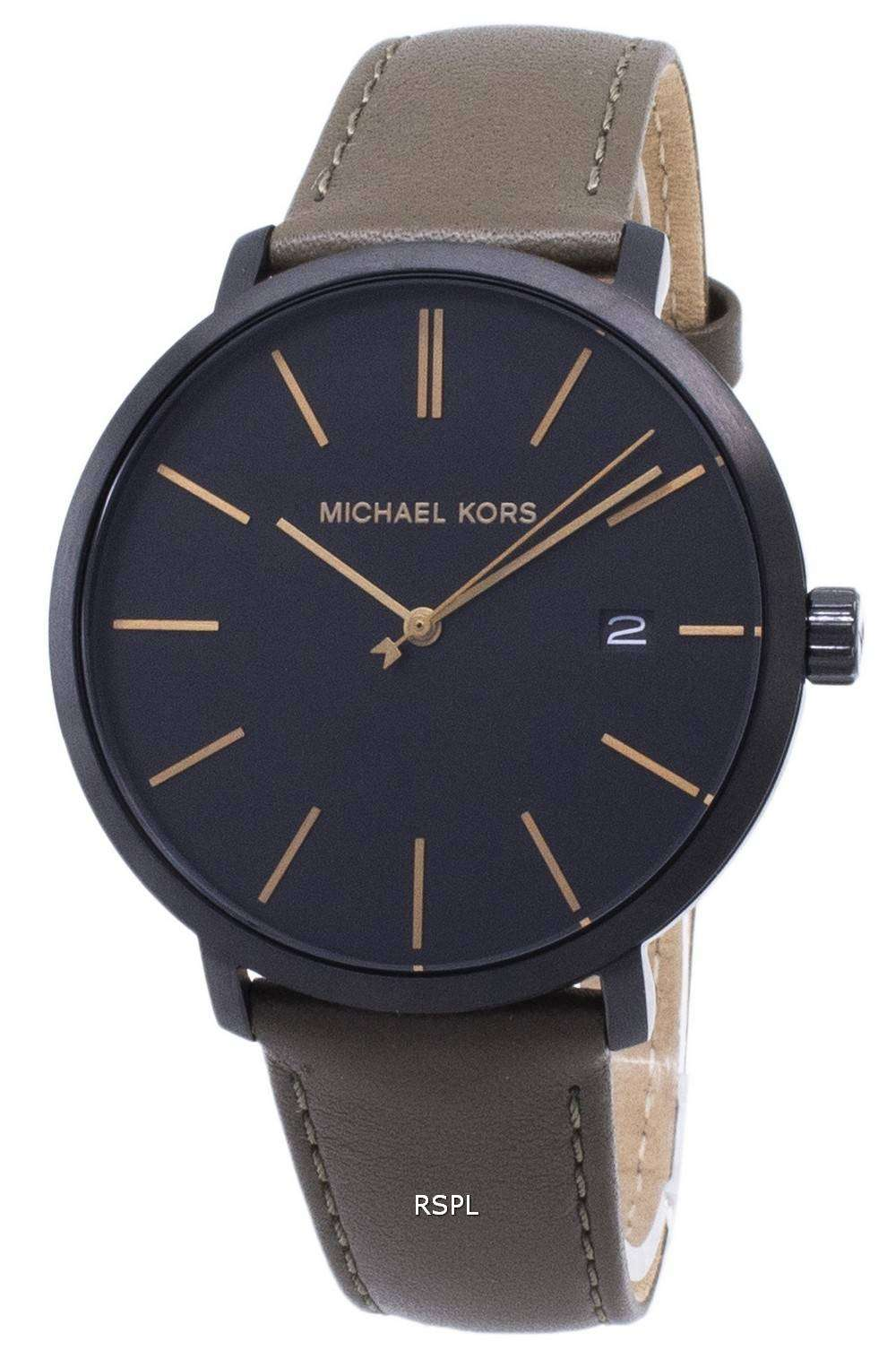 마이클이 스 블레이크 MK8676 쿼 츠 아날로그 남성용 손목시계