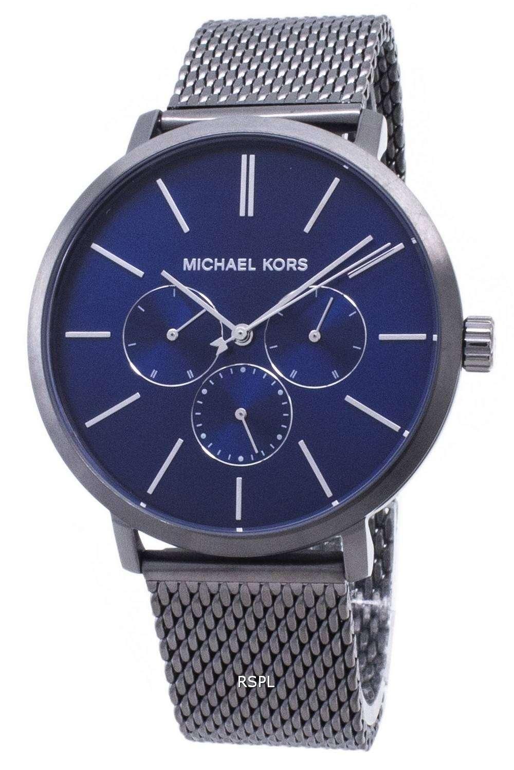 마이클 회사 블레이크 MK8678 크로 노 그래프 쿼 츠 남성용 손목시계