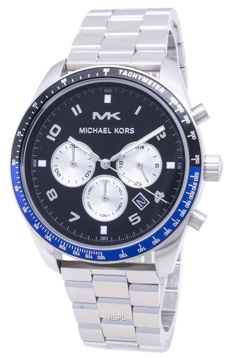 마이클에 스 케 톤 MK8682 크로 노 그래프 남성용 손목시계