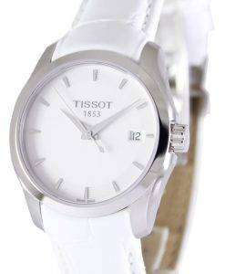 Tissot Couturier 석 영 T035.210.16.011.00 여자의 시계