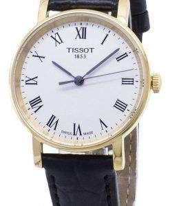 티 쏘 T-클래식 매번 작은 T 109.210.36.033.00 T1092103603300 쿼 츠 여성용 손목시계