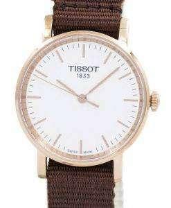Tissot T-클래식 매번 작은 석 영 T109.210.37.031.00 T1092103703100 여자 시계