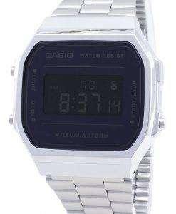 카시오 빈티지 A168WEM 일 루미 네이 터 디지털 남성용 손목시계