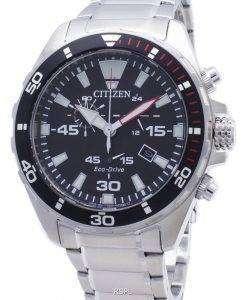 시티즌 에코 드라이브 AT2430 - 80E 크로노 아날로그 남성용 시계