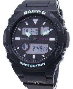 카시오 베이비-G-글라이드 BAX-100-1A BAX100 타이 드 그래프 여성용 손목시계