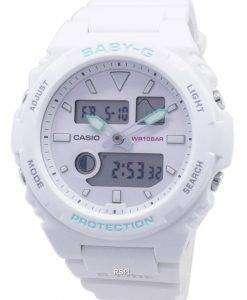 카시오 베이비 G-글라이드 BAX-100-7A BAX100 타이 드 그래프 여성용 손목시계