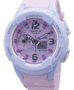 카시오 베이비 G BGA-230PC-2B BGA230PC 충격 방지 여성용 손목시계