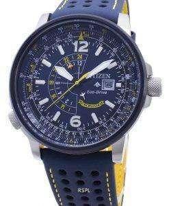 시티즌 블루 엔젤 BJ7007 - 02L 에코 드라이브 200M 남성용 시계