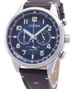시민 에코 드라이브 크로노 아날로그 시계 CA4420 - 13L