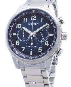 시민 타코미터 아날로그 시계 에코 드라이브 CA4420 - 81L