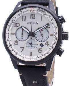 시민 타코미터 아날로그 시계 에코 드라이브 CA4425 - 10X