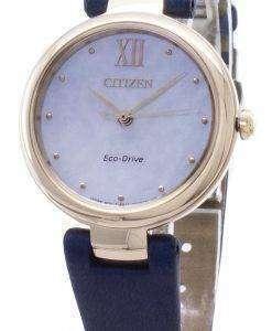 시티즌 에코 드라이브 EM0533 - 15D 아날로그 여성 손목 시계