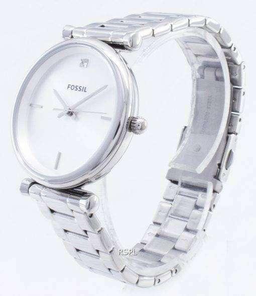 화석 Carlie ES4440 쿼츠 아날로그 여성용 시계