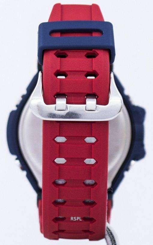 건반의 g 조-충격 GRAVITYMASTER 충격 방지 세계 시간 조지아-1100-2A 남자 시계
